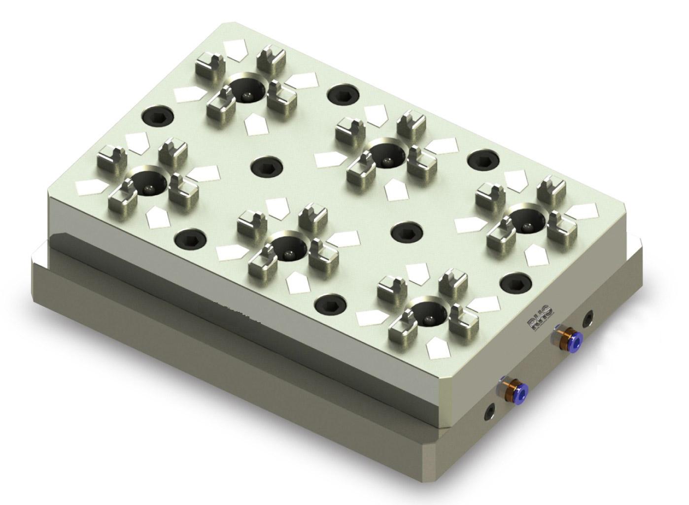Erowa Compatible ER-011803 Pneumatic 6 In 1 Mini Chuck System