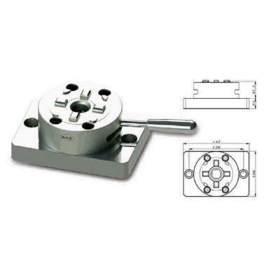 3R Compatible RH-3M0037 D100 3R Manual Chuck with CNC Base