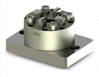 SYSTEM 3R COMPATIBLE 3R-610.46-30 D100 3R Pnuematic Chuck with CNC Base