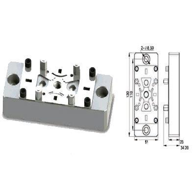 EROWA Compatible ER-010644 130X51 Uniplate Electrode Holder