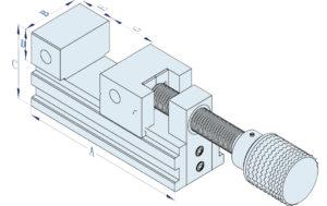 Electrode EDM Vise rhsvice679