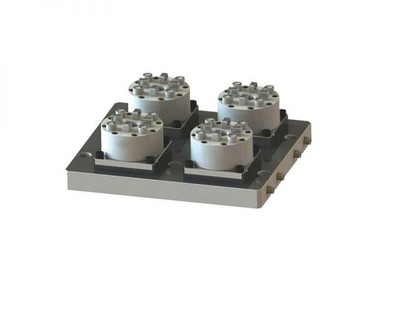 system 3r compatible 4 in 1 CNC pneumatic chuck