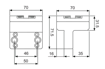 angled holder system 3r drawing